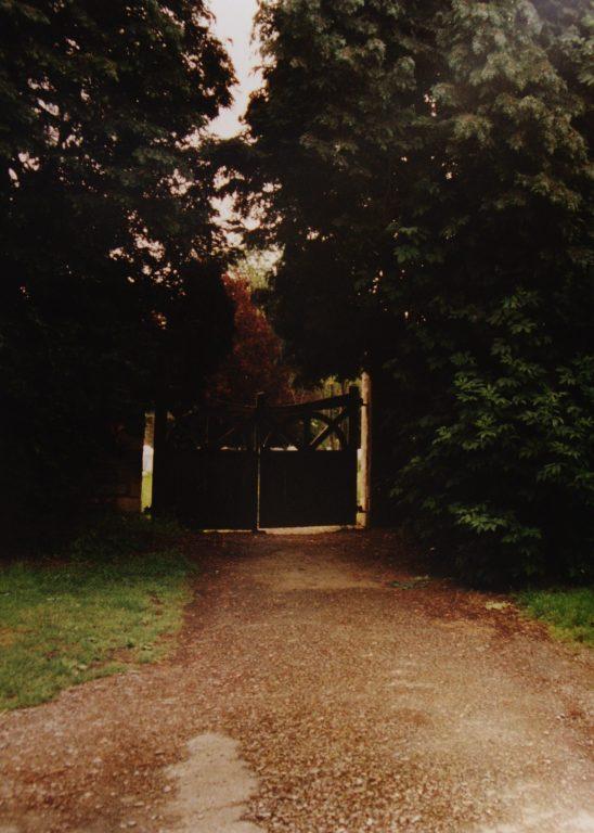 Gates into new Churchyard   Mickleton Community Archive