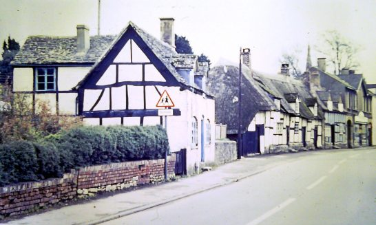 Cottages in the High Street