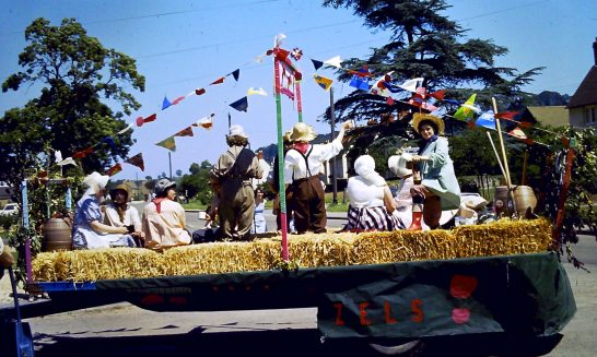 Women's Institute Decorated Float at Carnival, 1997
