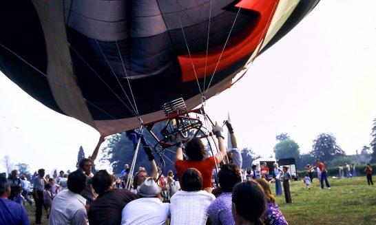 Air Balloon at Mickleton Fete, 1976