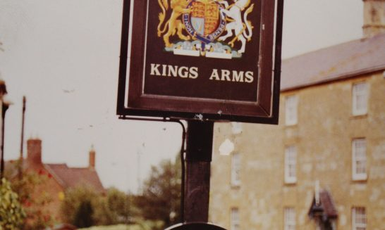 The Kings Arm Sign