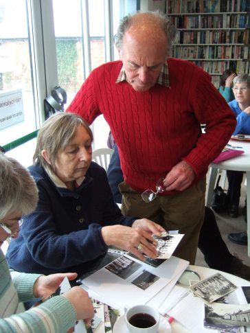 Checking the details for the catalogue   Barry Metcalfe