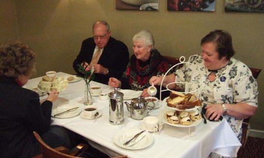 'Tea at the Ritz'