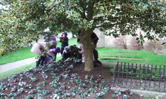 Young Gardeners Commemorate World War 1