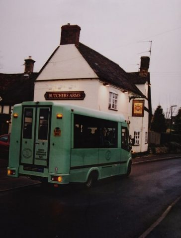 New bus - new colour. | Marion Franklin, 2008