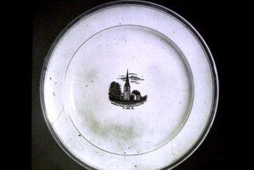 Golden Jubilee Plate   Mickleton Women's Institute