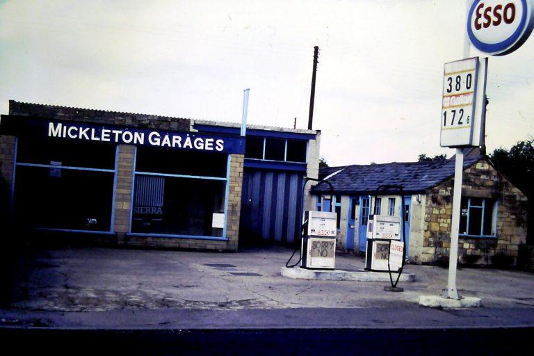 Mickleton Garage 1987   Mickleton WI/Struthers, David