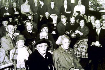 Old People's Party in the 1950s